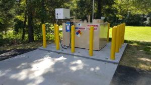 Fuel Tank Installation 1