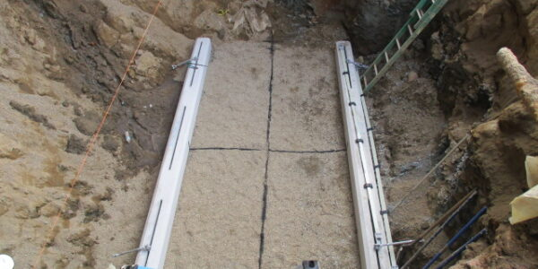 Double-wall fiberglass UST in Cleveland Ohio
