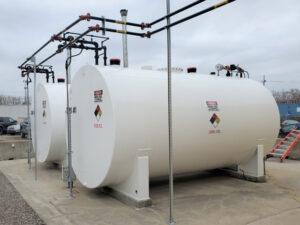 Generator fuel tanks and piping restoration in Detroit, Michigan