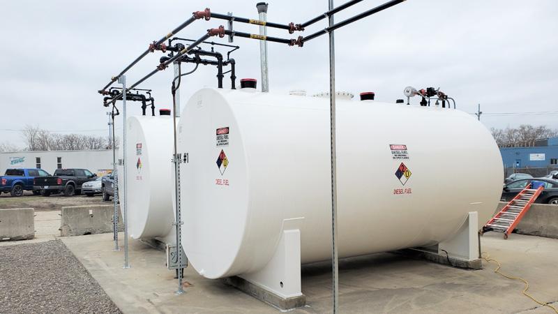 Fuel Tank System Restoration