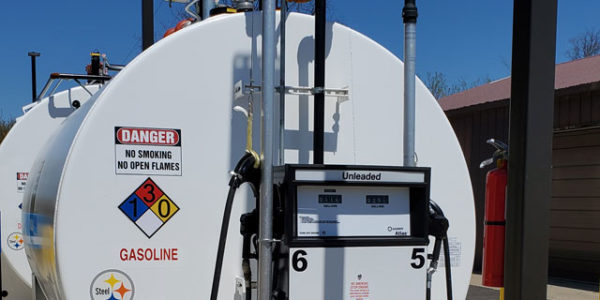 above-ground storage tank (AST) for fleet fueling Howell, Michigan