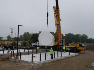 above-ground storage tanks in Waterford Michigan by Matzak