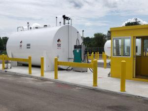 above-ground storage tanks in Waterford Michigan by Matzak