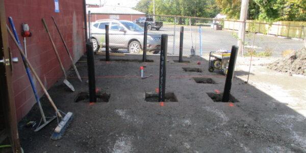 Above-ground fuel tank (AST) installation in Wellington, Ohio